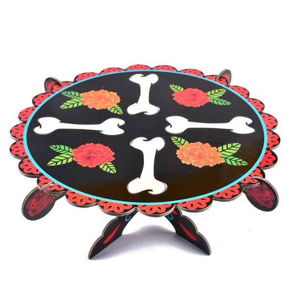 Day Of Dead Cake Stand - Sunbeauty