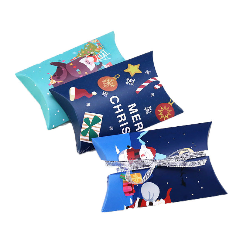Christmas Gift Card Pillow Boxes - cnsunbeauty