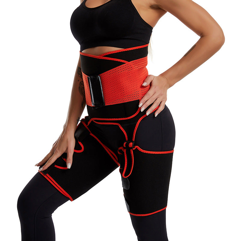 FreeShipping-Fitness Shaper Waist Thigh Trimmer - cnsunbeauty