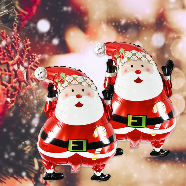 Christmas Party Santa Claus Foil Balloon - Sunbeauty