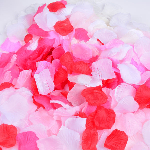 Silk Rose Petals Wedding Flower Decoration-50Pcs Free Shipping - Sunbeauty