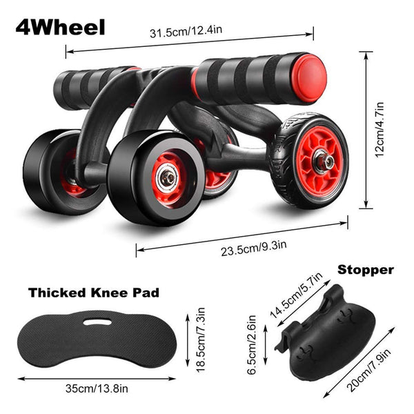 Ab Roller Wheel Exercise Equipment-FreeShipping - Sunbeauty