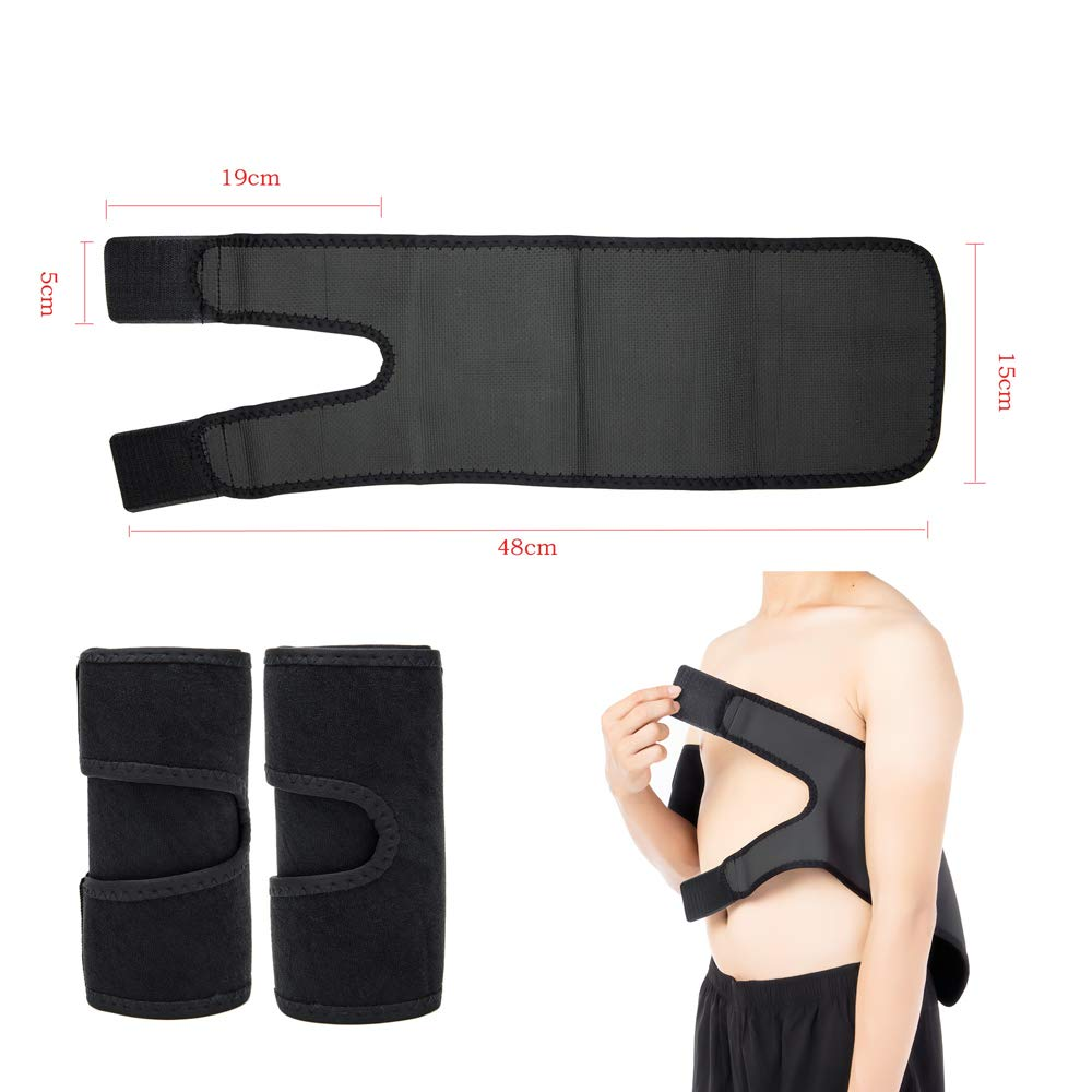 FreeShipping-Arm Trimmers Sauna Sweat Band - Sunbeauty
