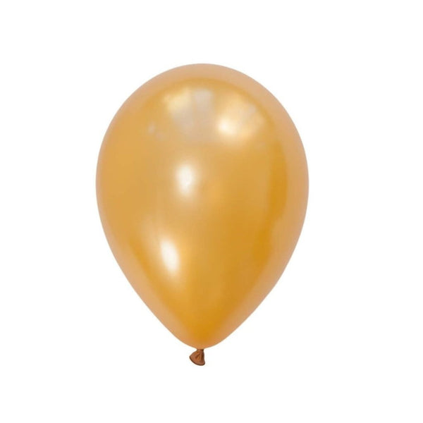 5Pcs Gold Latex Balloon Kit - Sunbeauty