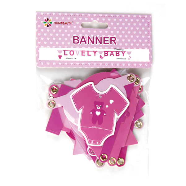 Baby Shower Welcome Baby Birthday Banner-50Pcs Free Shipping - Sunbeauty