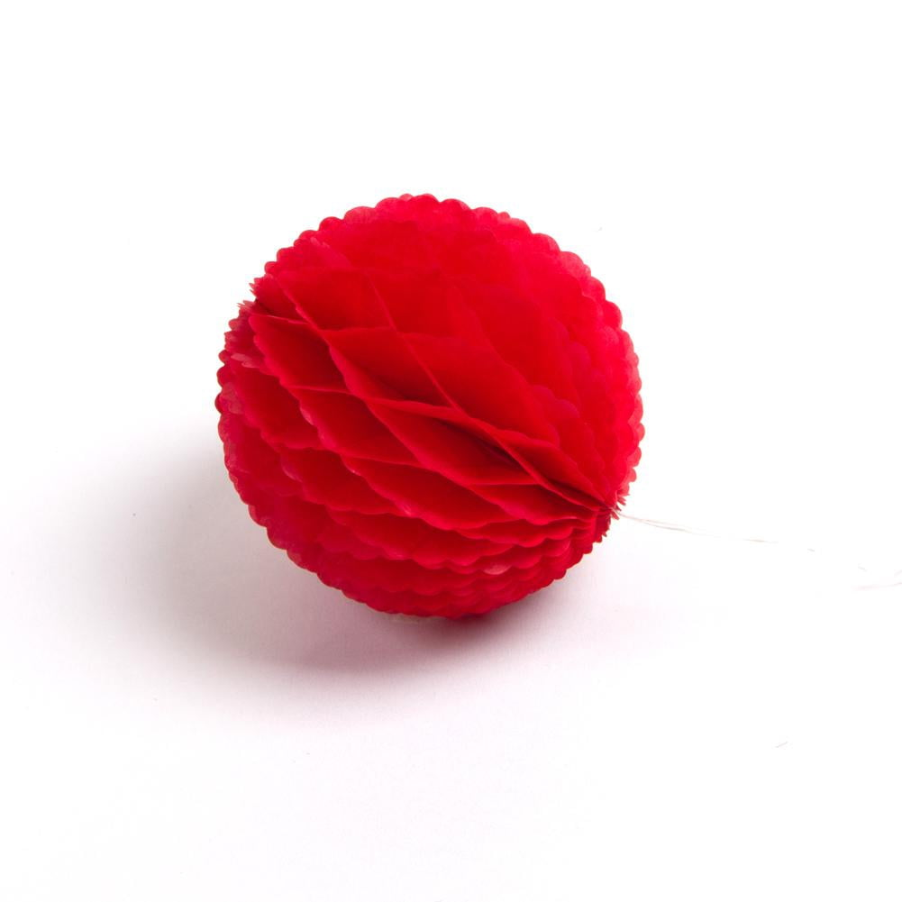 Red Lace Honeycomb Ball - Sunbeauty
