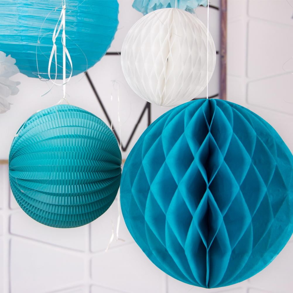 Blue Hanging Decoration Set(8Pcs) - Sunbeauty