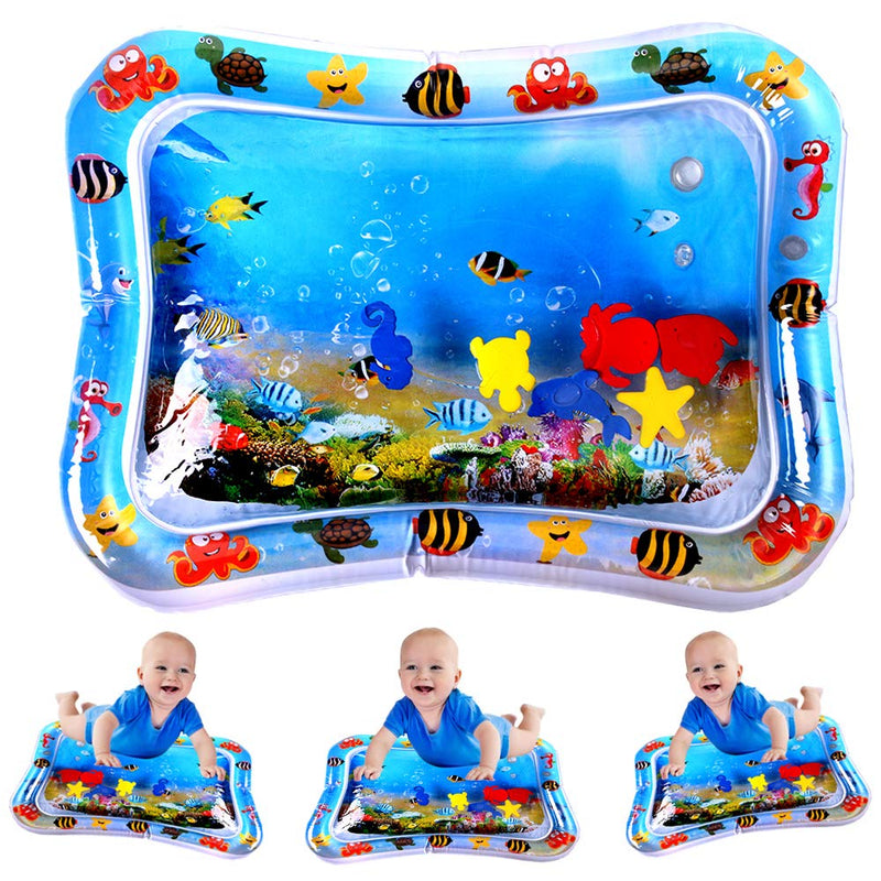 FreeShipping-Child Development Inflatable Tummy Time Baby Play Mat - cnsunbeauty