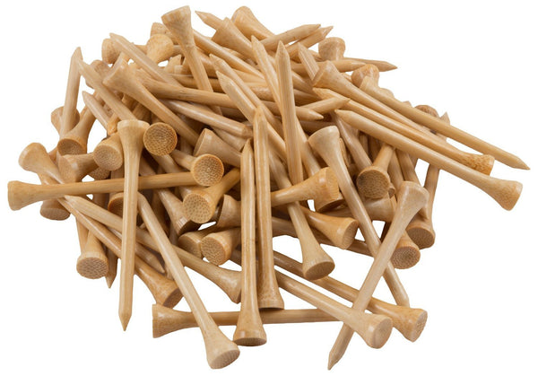 100 Pack Professional Bamboo Golf Tees-FreeShipping