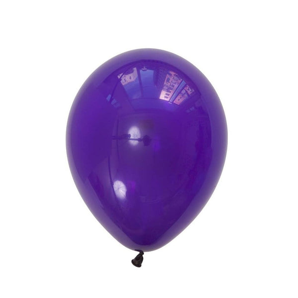 5Pcs Purple Latex Balloon Kit - cnsunbeauty