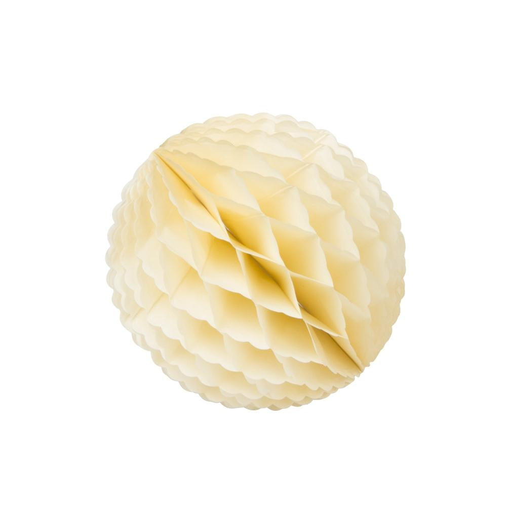Yellow Lace Honeycomb Ball - Sunbeauty
