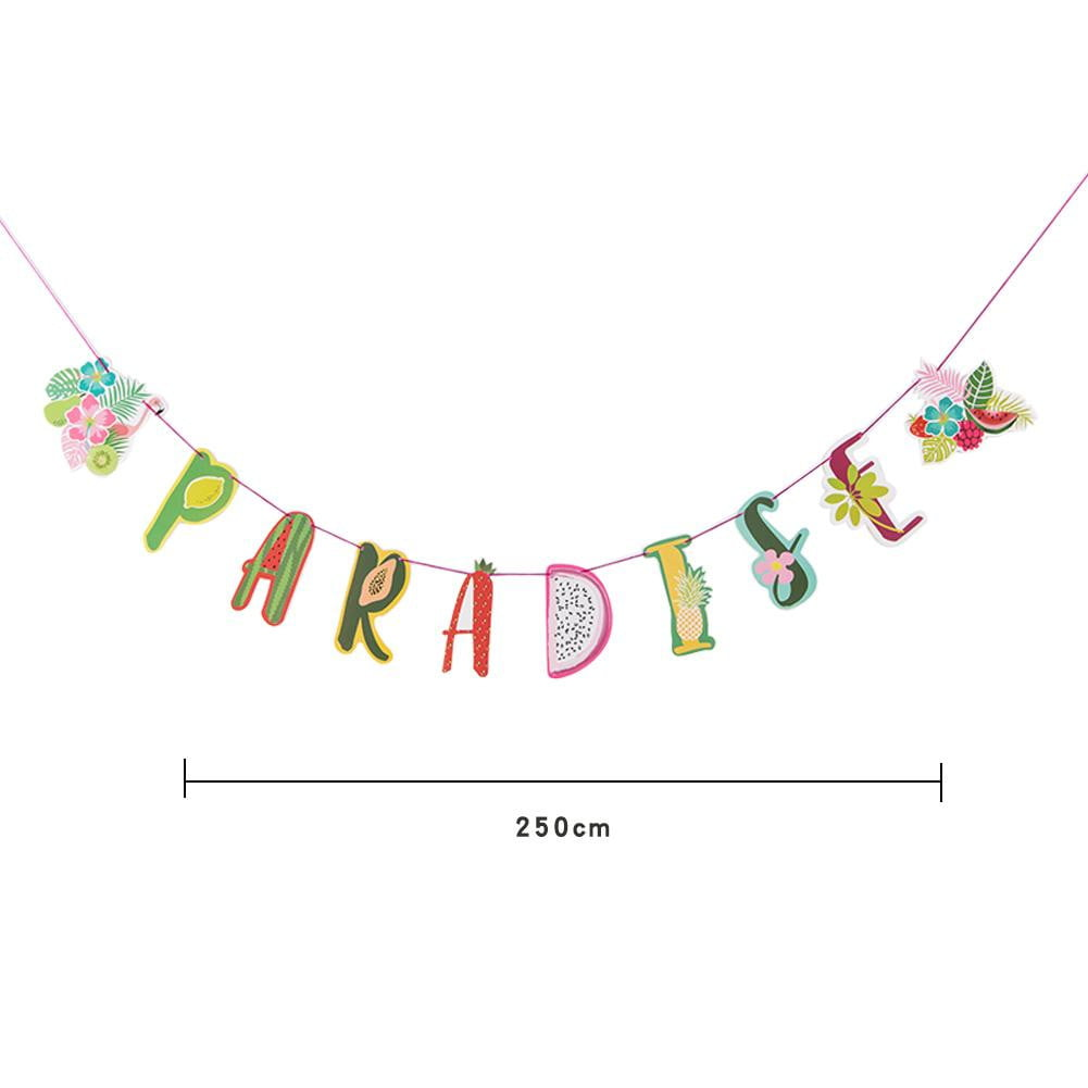 Paradise Fruit Summer Party Banner - Sunbeauty