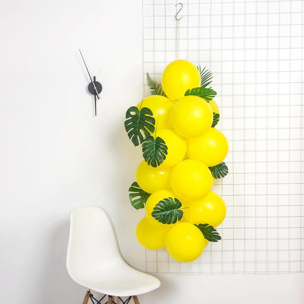 Summer Party Balloon Leaves Set - Sunbeauty