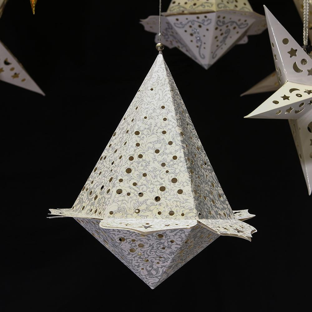 $9.99-FreeShipping-Christmas Party LED Paper Star Lanterns - Sunbeauty