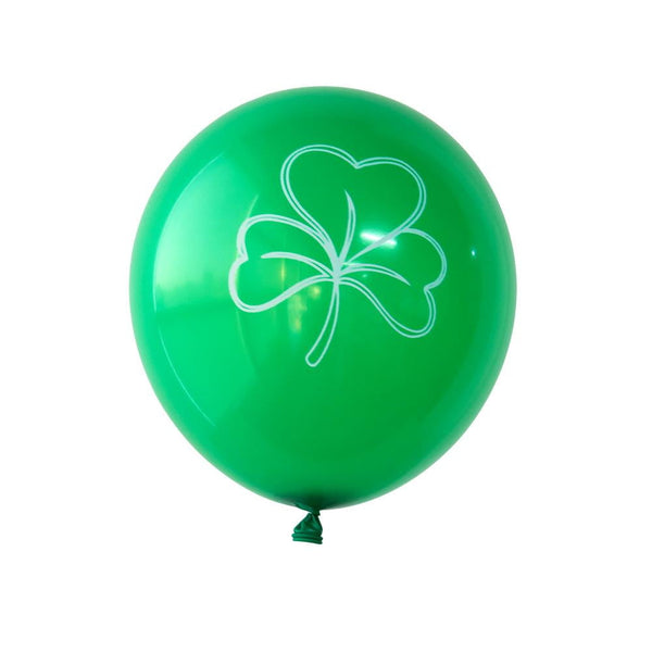12 inch St Patrick's Day Green Balloon(15Pcs) - Sunbeauty