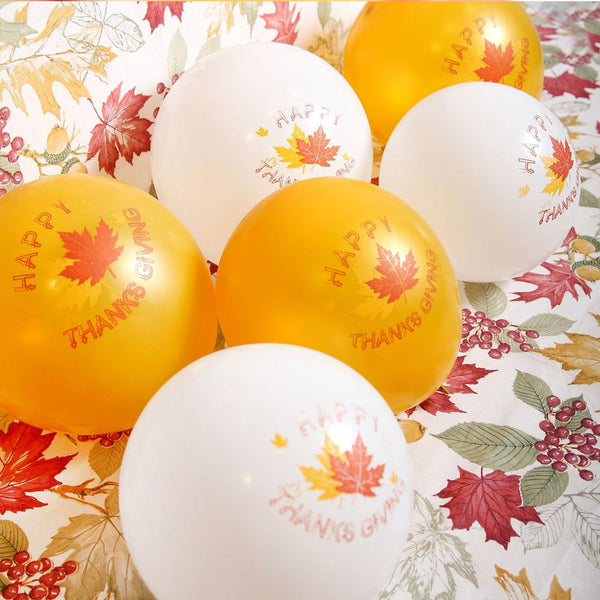 Thanksgiving Day 12 inch Latex Balloon(10Pcs) - Sunbeauty