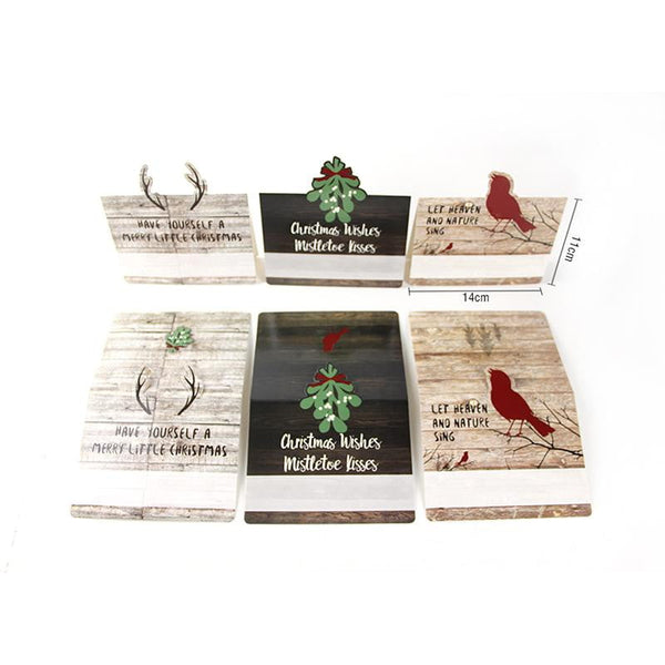 Christmas Table Cards(9Pcs) - Sunbeauty