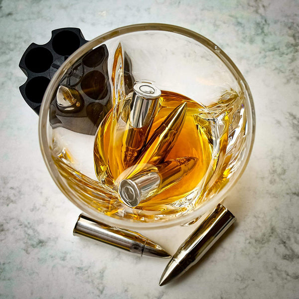 Bullets Stainless Steel Whiskey Stones-FreeShipping - Sunbeauty