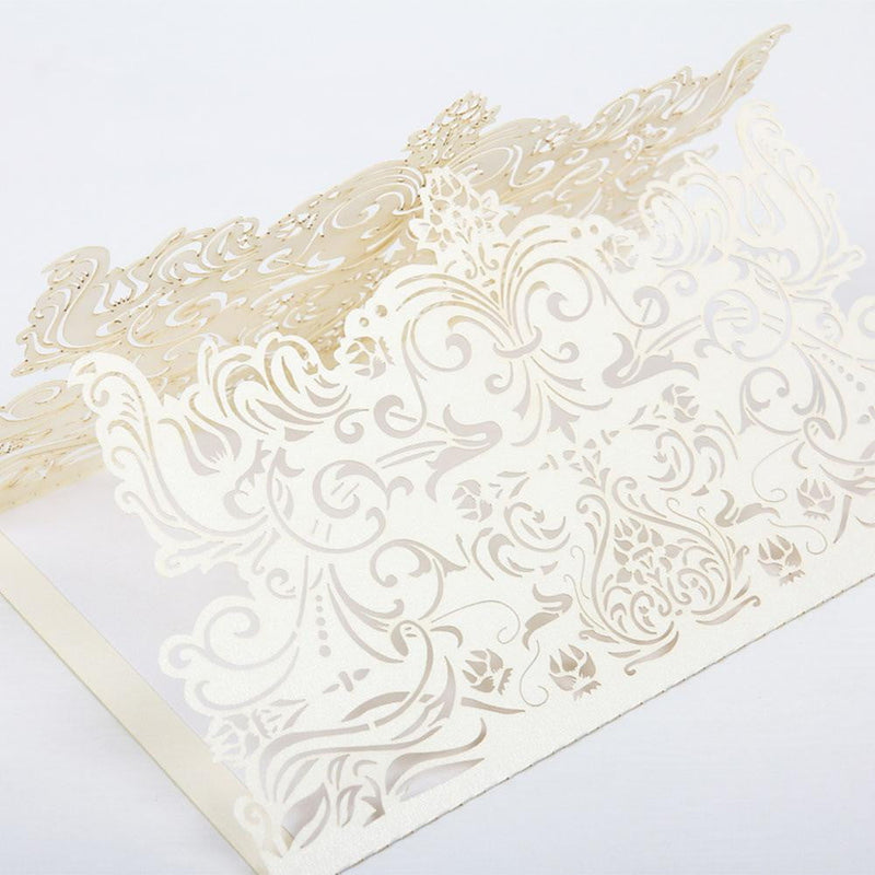 Wedding Invitation Cards(5Pcs) - Sunbeauty