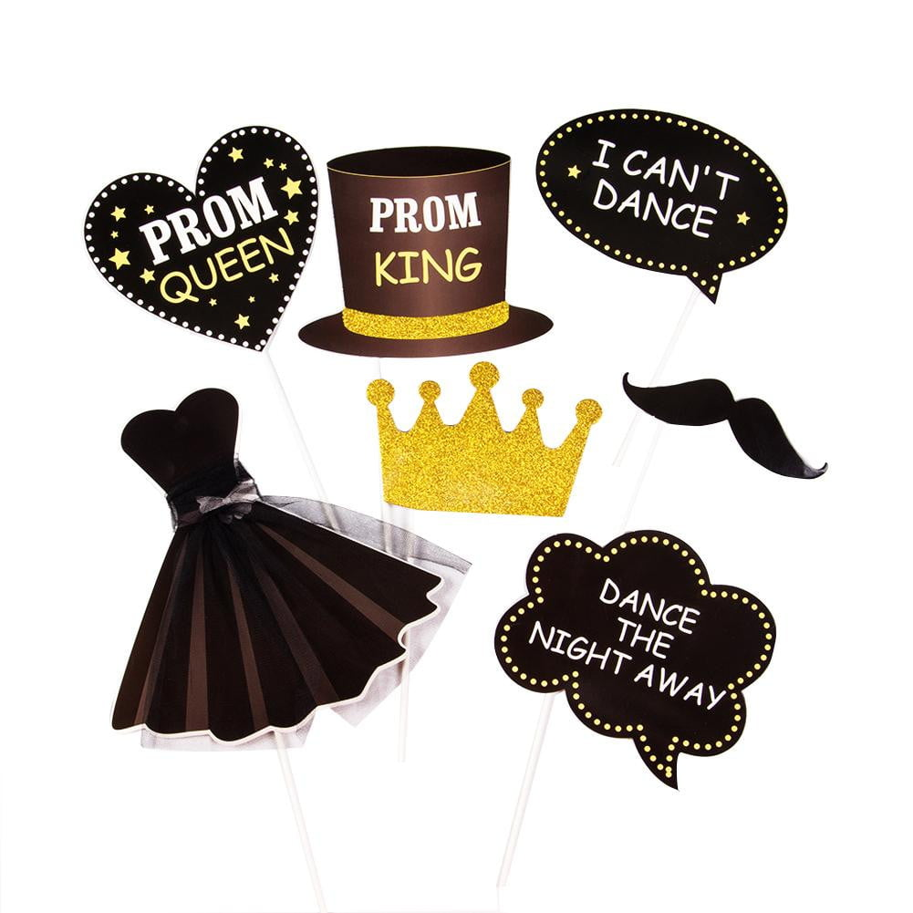 PROM Photo Booth Props Kit - Sunbeauty
