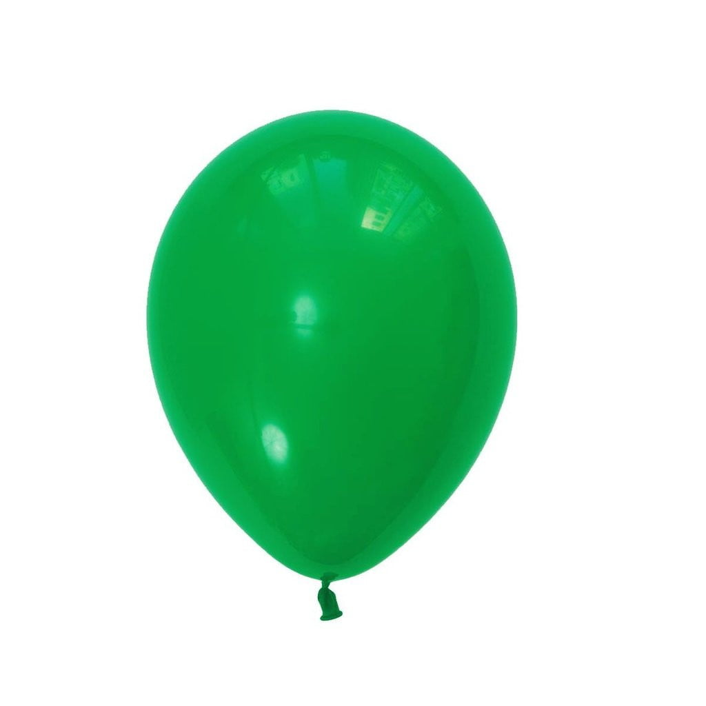 5Pcs Green Latex Balloon Kit - Sunbeauty