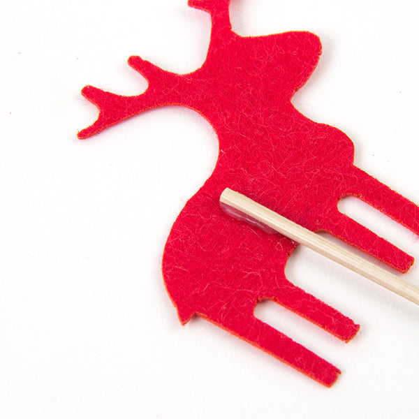 Reindeer Christmas Cake Toppers - Sunbeauty