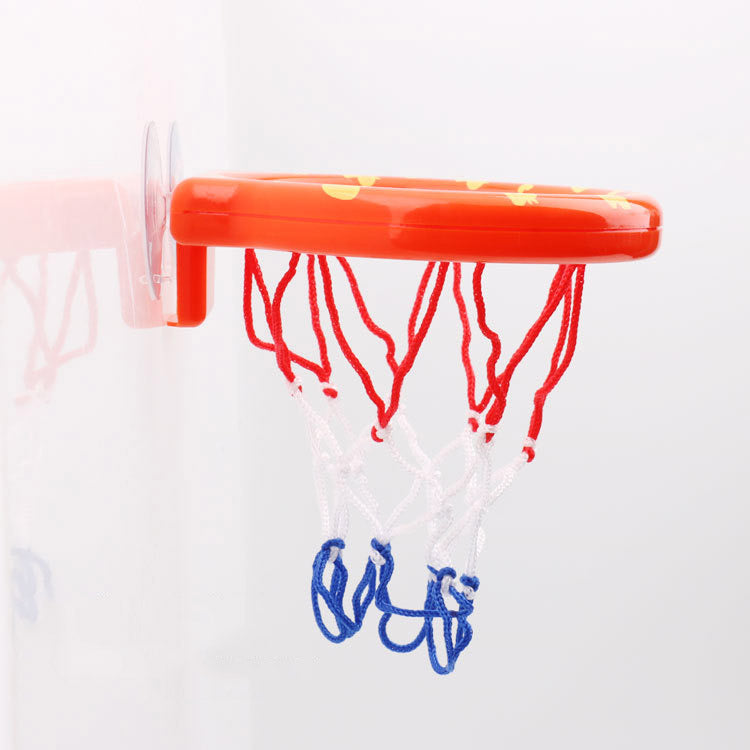 Bath Toys Basketball Hoop Balls Set - Sunbeauty