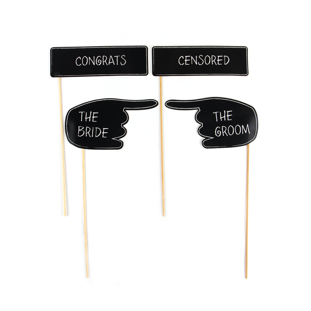 Wedding Party Photo Booth Props Kit-50Pcs Free Shipping - Sunbeauty