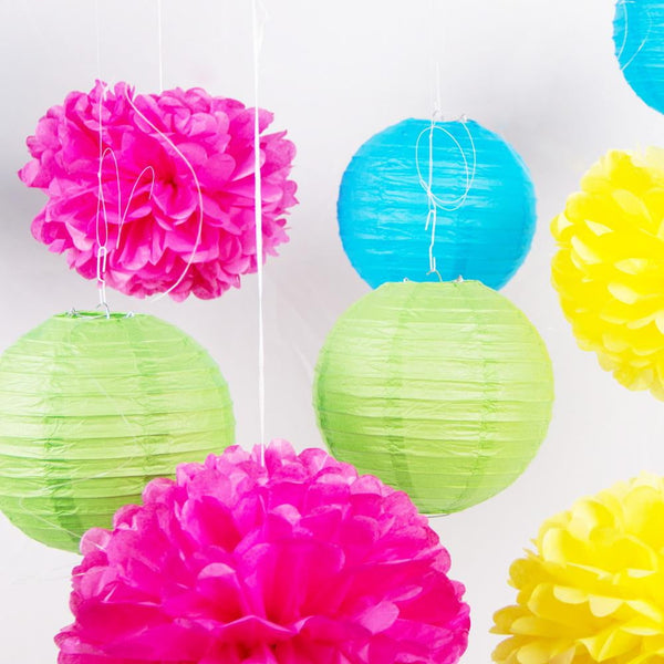 Colorful Party Hanging Decoration Kit - Sunbeauty