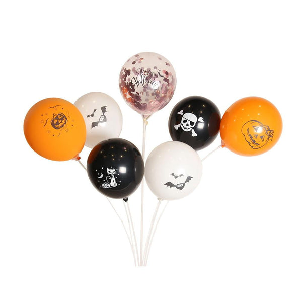 Halloween Latex Balloon (100Pcs) - Sunbeauty