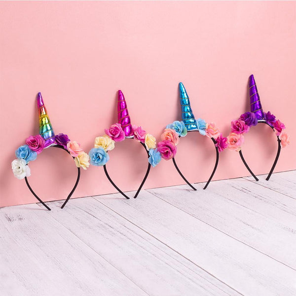 Unicorn Headband - Sunbeauty