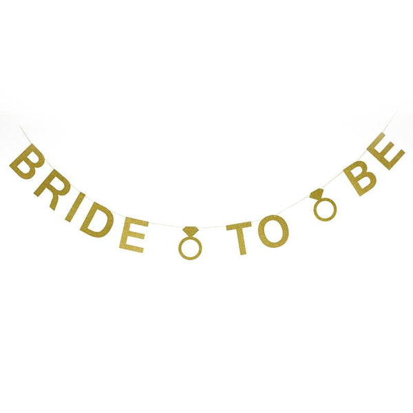 BRIDE TO BE Banner - Sunbeauty