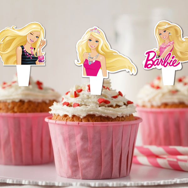 Party theme Cake topper Decorations Set