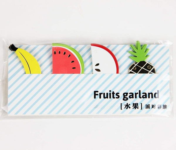 Mini Fruit Paper Garland - Sunbeauty