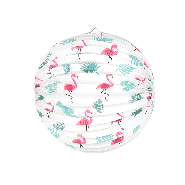 Summer Flamingo Watermelon Paper Lanterns - Sunbeauty