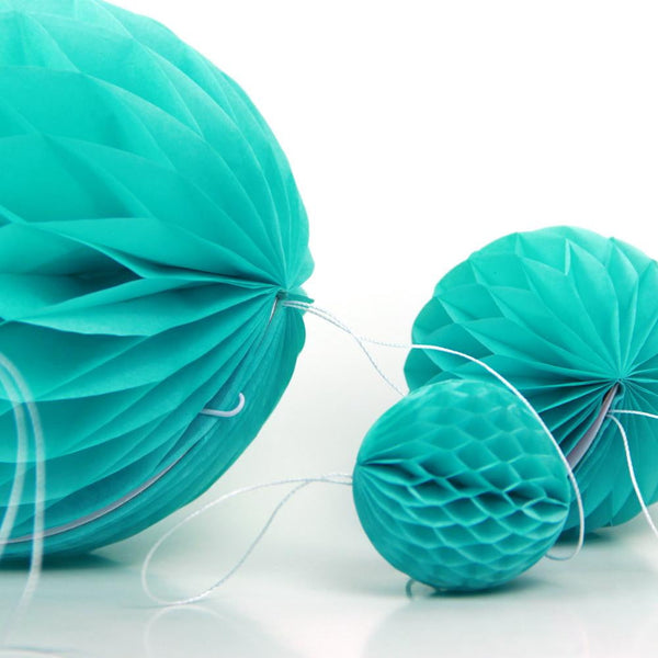 Tiffany Blue Honeycomb Ball - Sunbeauty