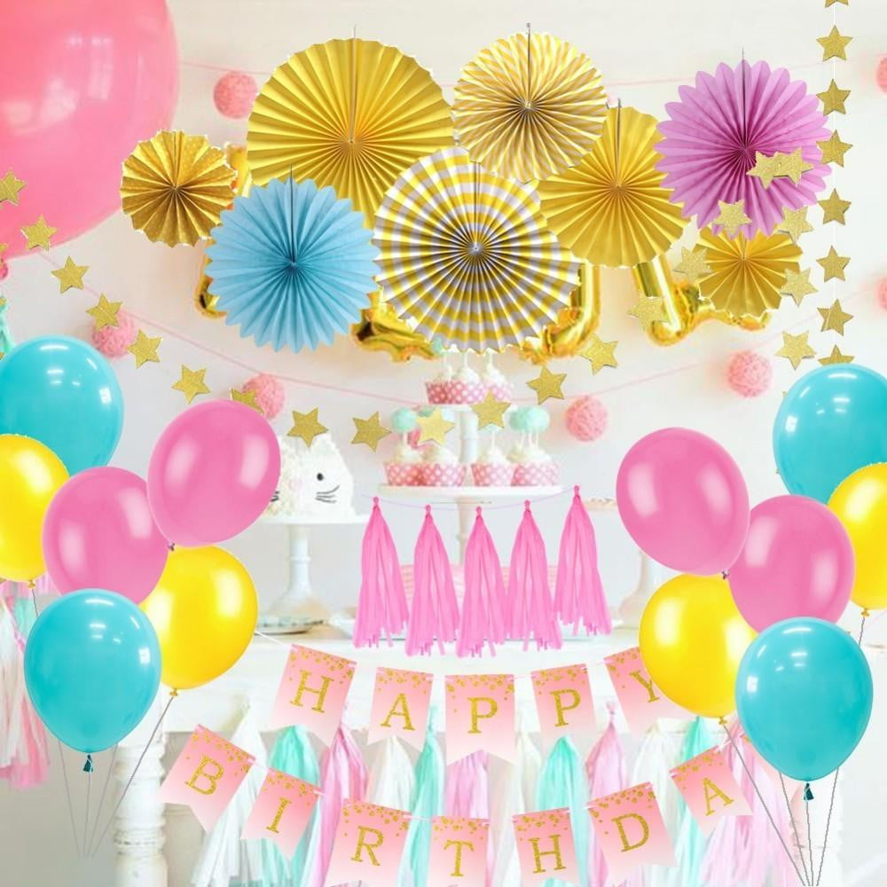 Birthday Decorations Large Set - Sunbeauty