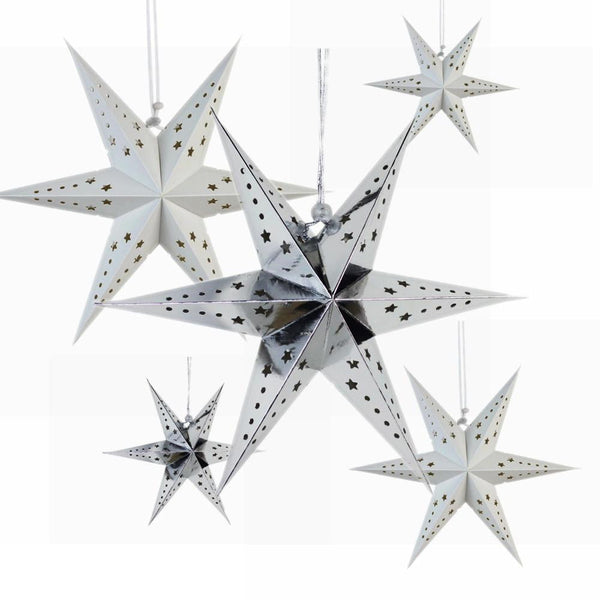 30cm 6-Pointed Paper Star - Sunbeauty