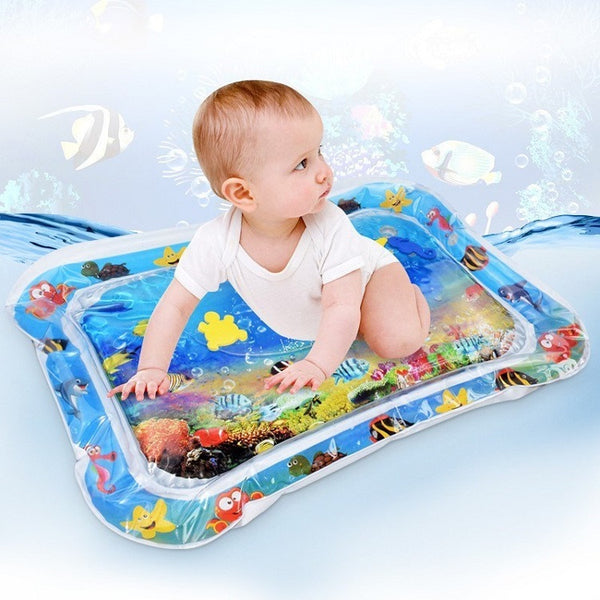 Child Development Inflatable Tummy Time Baby Play Mat-FreeShipping - Sunbeauty