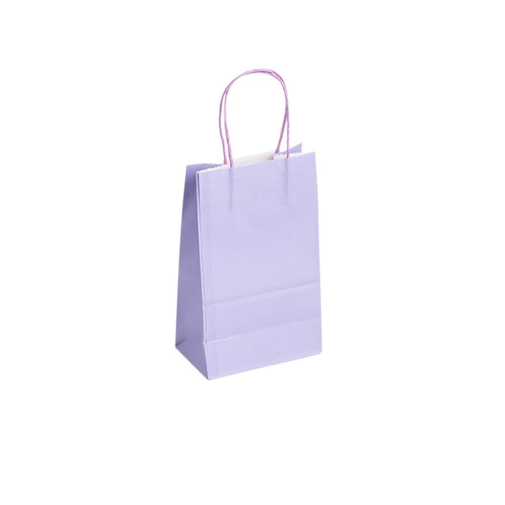 Muticolor Paper Bags with Handle(20Pcs) - Sunbeauty