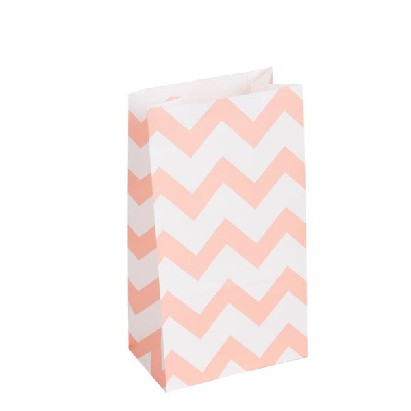 Colorful Striped Paper Bag(20Pcs) - Sunbeauty