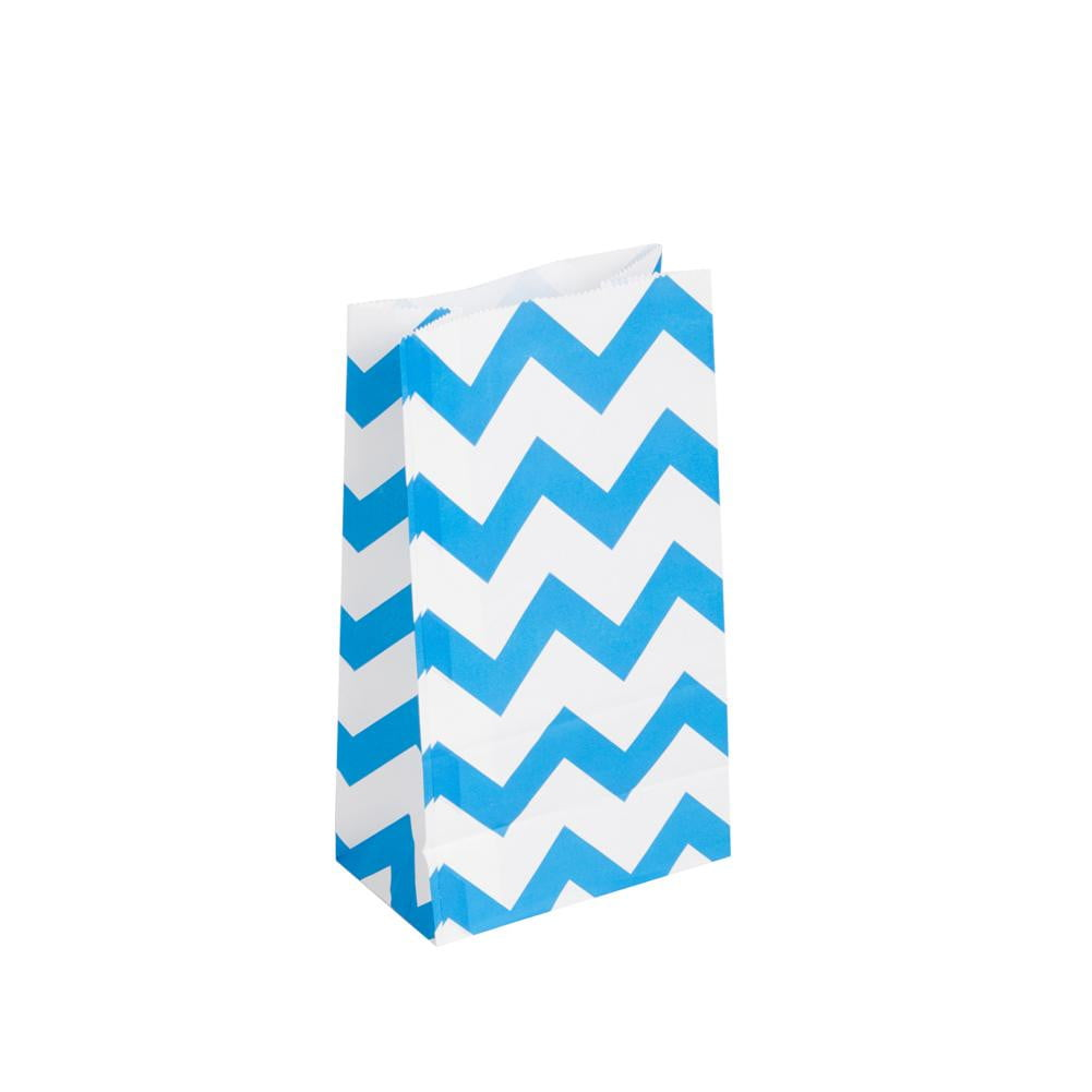 Colorful Striped Paper Bag(20Pcs) - cnsunbeauty