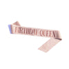 5pcs Party Supplies Women Birthday Sash-FreeShipping