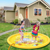 FreeShipping-Inflatable Splash Pad Sprinkler for Kids