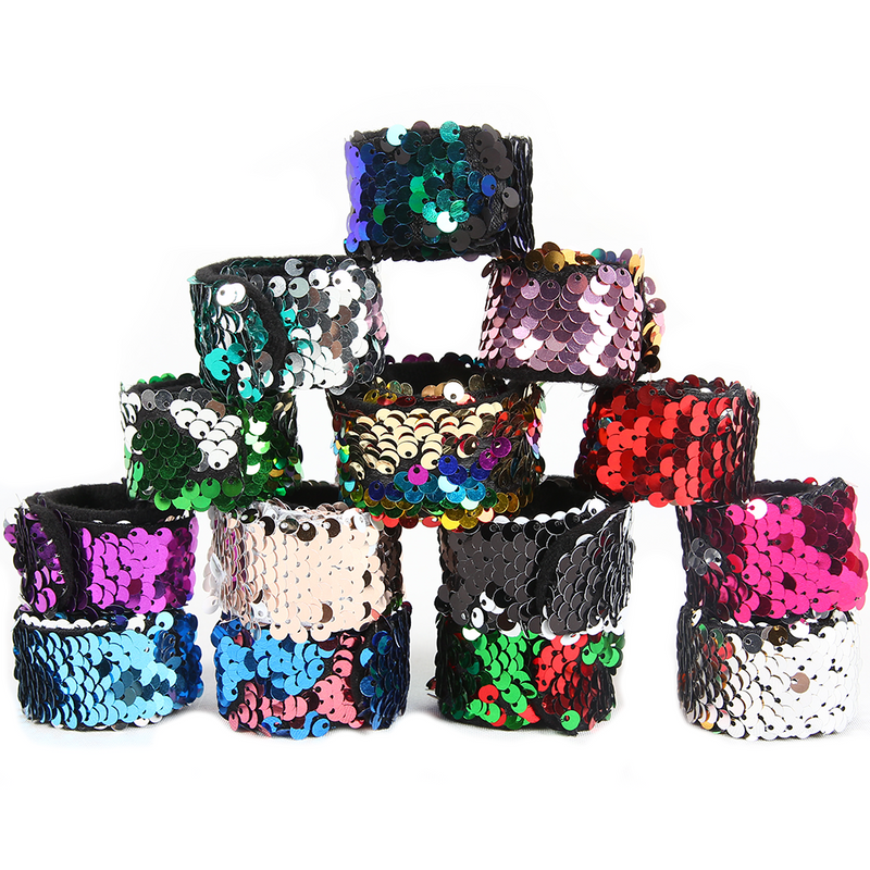Magic Sequins The Mermaid Bracelets Glitter Bracelets Wristband