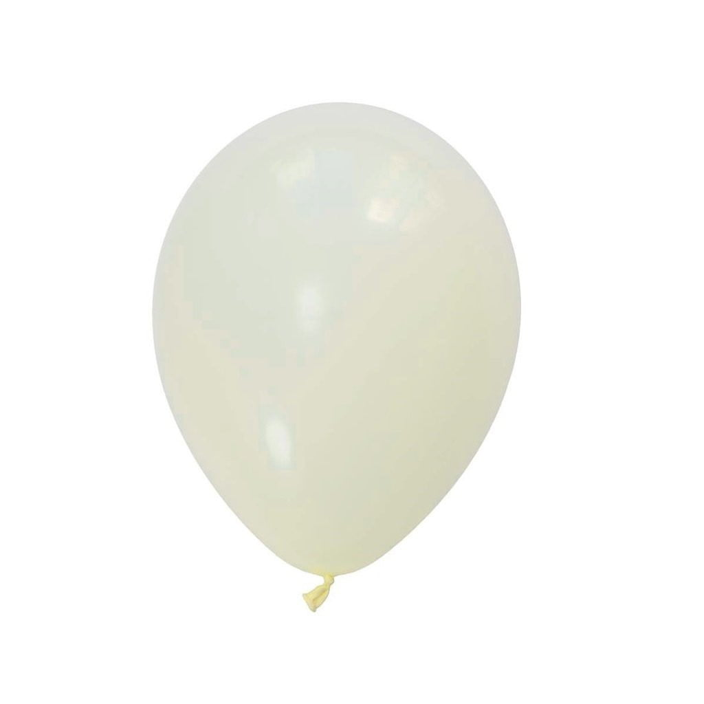 5Pcs Cream Latex Balloon Kit - Sunbeauty