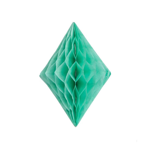 Mint Green Diamond Honeycomb Ball - Sunbeauty