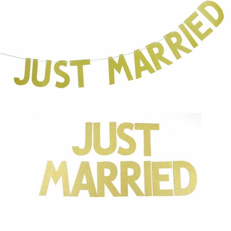 Just Married Banner - Sunbeauty