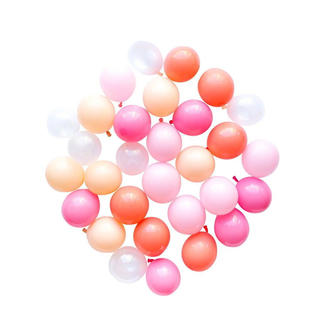 5Pcs Pink Latex Balloon Kit - Sunbeauty