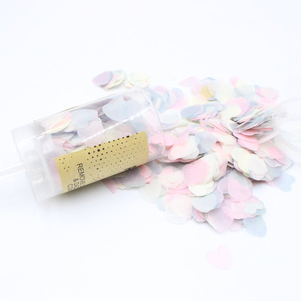 Push Pop Containers Sprinkle Confetti Poppers - Sunbeauty